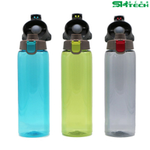 New Style Transparent Water Bottle Custom Logo Design Clear Water Cup with Handle